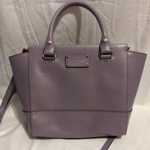 Kate Spade Small Camryn Wellesley Lushlilac purse